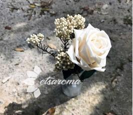 Rosa Eterna y Flores...