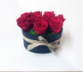 Caja Rosas Preservadas Eternas