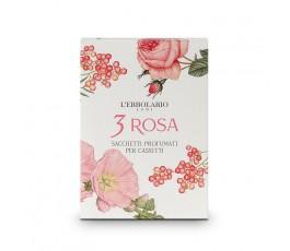 3 Rosa saquitos cajón-...