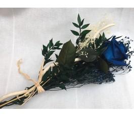 Ramo Rosa Eterna Azul o...