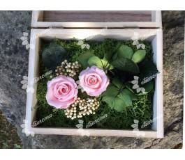 Cofre Rosas Eternas