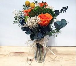 Ramo con flores Preservadas...